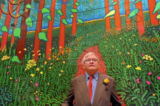 06 David Hockney Royal Academy surface and surface