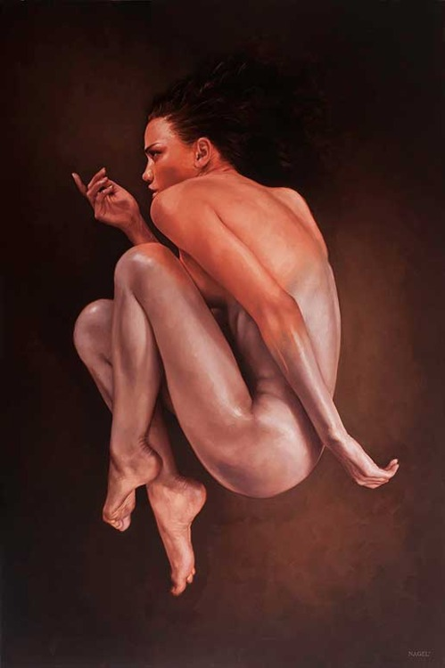 Aaron Nagel - Cella Gallery - Femme Fatale - surface and surface