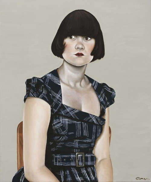 Lily Mae Martin - Cella Gallery - Femme Fatale - surface and surface