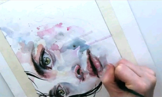 agnes-cecile - surface and surface