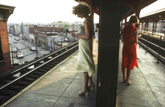 Bruce Davidson - Subway - Surface and Surface