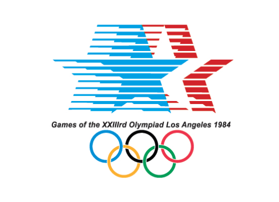 1984 olympic logo surface and surface