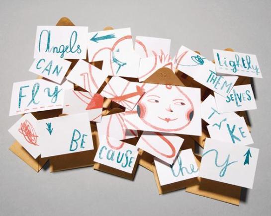 Thomas Heatherwick Christmas Card - surface and surface 1