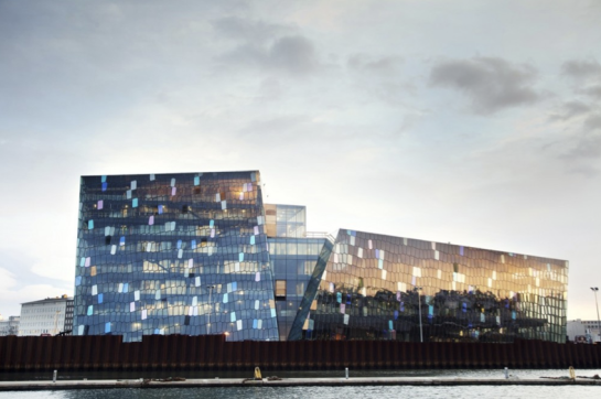 Harpa - Henning Larsen - Olafur Eliasson - surface and surface