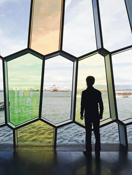 Harpa - Olafur Eliasson - surface and surface