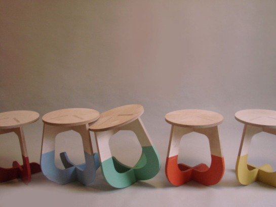 This stool rocks - surface and surface