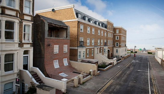 Alex Chinneck - surface and surface